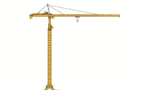 Башенный кран с оголовком RUNCHEN RCT70100-50